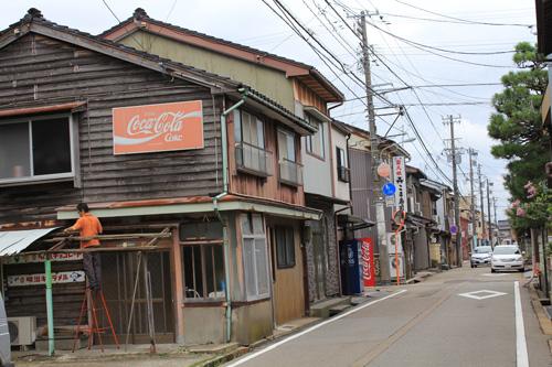 富山県は射水の町並み。この ...